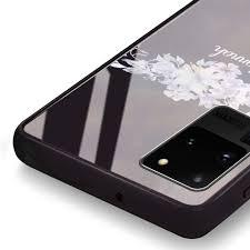 Serene Flowers & Me Samsung Glass Case ...