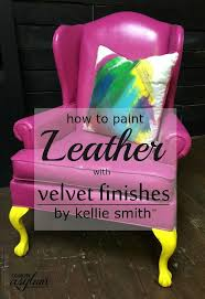 velvet finishes paint leather furniture