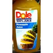 dole pineapple juice 100 juice