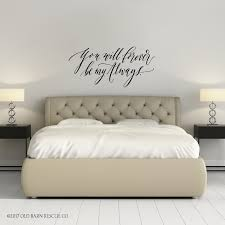 Beautiful Love Quotes Wall Decal Forever Be My Always Old Barn Rescue