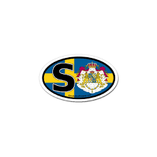 Car Truck Graphics Decals Sweden Flag Sticker Auto Car Decal Truck Window Wall Country Nation Swedish Auto Parts And Vehicles