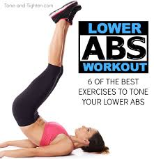 6 great exercises for your lower abs
