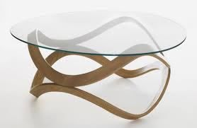 Modern Couchtisch Glas Oval