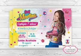 Invitacion Digital Tarjeta Cumpleanos Soy Luna Whatsapp