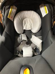 chicco car seat insert head and