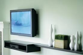 tv wall mount with shelf decorative