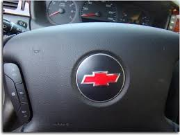 Steering Wheel Bowtie Overlay Decal Chevy Impala Decal