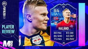 FIFA 20 TOTGS HALAND REVIEW   84 TOTGS HALAND PLAYER REVIEW