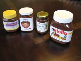 nutella and other chocolate hazelnut