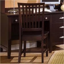 Bb8 007 Vaughan Bassett Furniture Wood Desk Chair Merlot