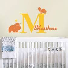 Custom Name Decal Personalized Wall Decal And Wall Decor Pinknbluebaby Com