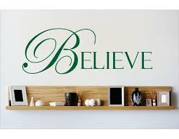 Design With Vinyl Believe Wall Decal Wayfair