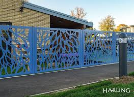 School Security Fencing Decorative Practical Security Fencing