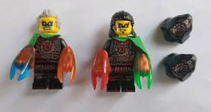 Lego Ninjago Time Twins 2 Minifigures from Dawn of Iron Doom 70626 Acronix  Crux | Lego, Lego ninjago, Mini figures