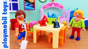 Unpack Playmobil Dollhouse 5306 Children S Room Youtube