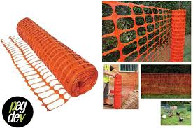 Pdl Heavy Duty Orange Plastic Barrier Fencing Safety Mesh Fence Netting Net Heavy Duty 5 5kg Super Strong Quality Mesh Fence Sample Amazon Co Uk Garden Outdoors