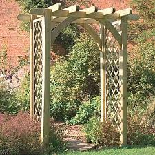 it comes to garden arches