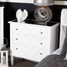 drawer bedside cabinet furniture chest