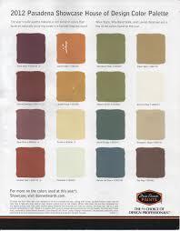 whole house color scheme spanish