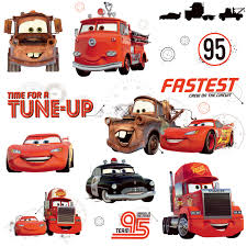 Rmk2533scs Walt Disney Kids Ii Disney Cars Friends To Finish Wall Decal Indoorwallpaper Com