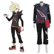 Anine Pocket Monsters Pokemon Sun and Moon Gladion Cosplay Costume ...