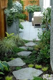Planters And Pathways Garden Design