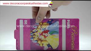 Tarjetas De Invitacion Para Cumpleanos De Princesas Disney By Kely