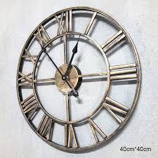 gear wall clock industrial mechanical