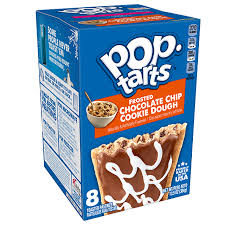 pop tarts chocolate chip cookie dough