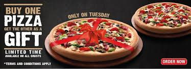 pizza hut tuesday special offer offerizer