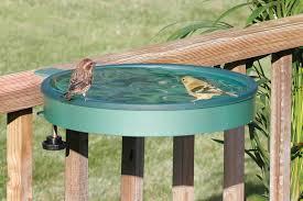 Duncraft Com Clamp Mount Deck Bird Bath