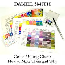 color mixing charts how to make them