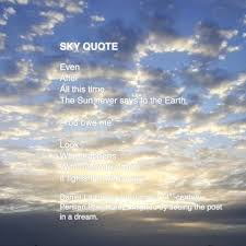 heonggallery today s sky quote was sent in by twitter facebook