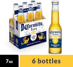Corona Extra Coronita Mexican Lager Beer, 6 pk 7 fl oz Bottles ...