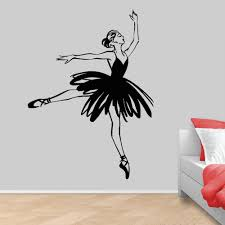 Abstract Ballerina Vinyl Wall Decal Ballet Dance Studio Dancing Girl Wall Stickers For Girls Room Decoration Accessories Home Decal Stickers Home Decals From Joystickers 12 66 Dhgate Com