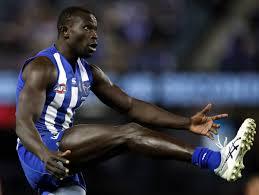 North Melbourne AFL star Majak Daw ...