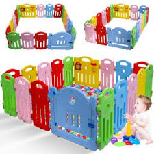 Baby Playpen Playard For Babies Infants Toddler 18 Panels Safety Kids Play Pens Indoor Baby Fence With Activity Board Walmart Com Walmart Com