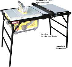 Model 2780 Portamax For Smaller Portable Saws Woodworking Tools Storage Craftsman Table Saw Best Table Saw