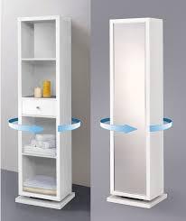 swivel cabinet shelving unit bathroom