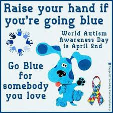 Wear BLUE April 2nd | World autism awareness day, Autism day