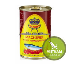 Sea Crown Canned Mackerel In Hot Tomato ...