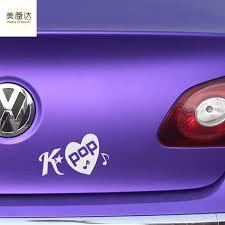 Seoul Fashion Beautiful Car Sticker Decal For Truck Window Bumper Laptop Motorcycle Kayak Vinyl K Pop Kpop Love Korean Wall Lxs Stickers For Vinyl Decalstickers Stickers Aliexpress