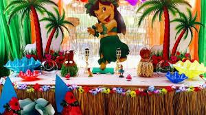 Decoracion De Fiesta Lilo Y Stich Ideas Para Decorar Una Fiesta