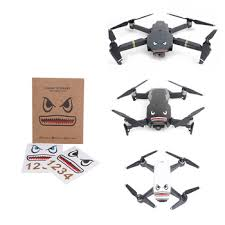 For Dji Mavic Air 2 Mavic 2 Mini Pro Spark Accessories Drone Shark Sticker Drone Body Paster Aircraft Frame Face Decals Skin Buy At The Price Of 1 99 In Aliexpress Com Imall Com
