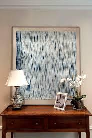 framed textiles as art diy wall art