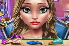 winter makeup facepainting game