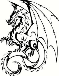 4 99 Mythical Dragon Vinyl Decal Car Window Wall Laptop Sticker Any Size Ebay Home Garde Dragon Tattoo Vector Tribal Dragon Tattoos Dragon Tattoo Sketch