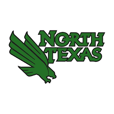 North Texas Mean Green A Vinyl Die Cut Decal Sticker