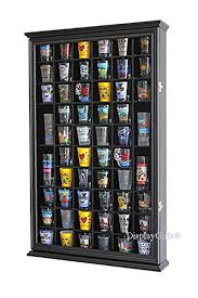 5 best large shot glass display cases