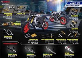 accessories for the yamaha mt 15
